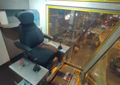 Diseño, fabricación y montaje de cabina de puente grúa 75 TN