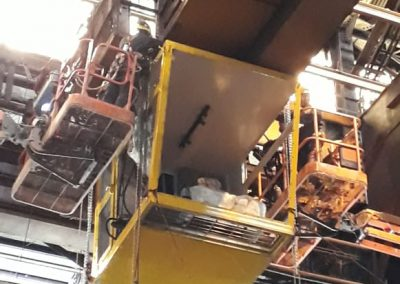 Diseño, fabricación y montaje de cabina de puente grúa 75 TN 5