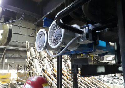 Montaje de Oscilador en Maquina de Colada Contínua